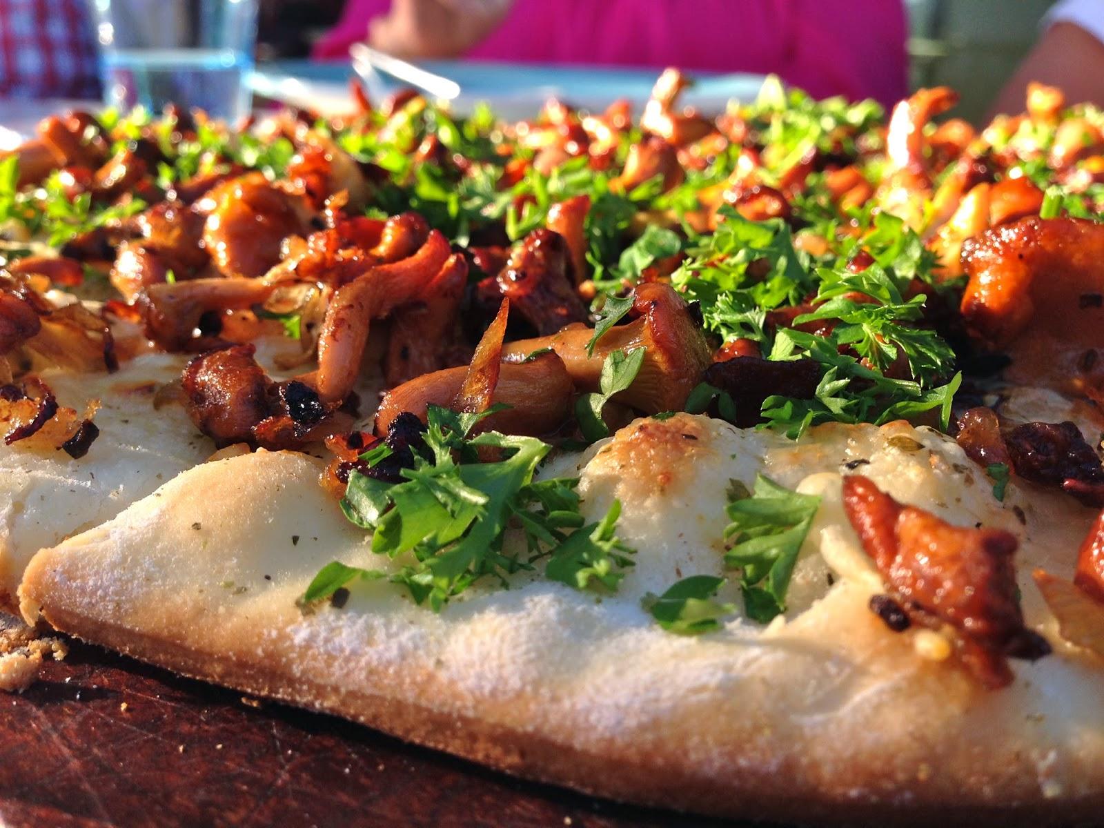 Paradismaten Pizzasten till grillen