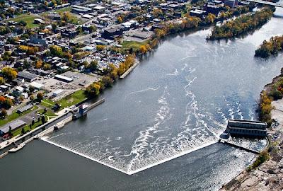 A Driving Tour of Historic Hudson Dam Sites