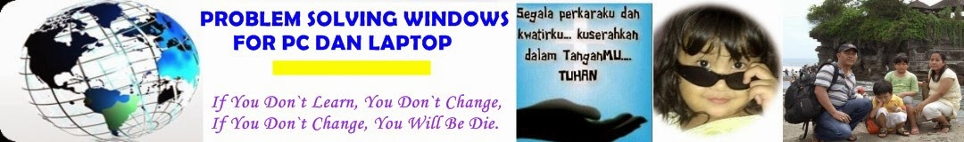 PROBLEM SOLVING WINDOWS FOR PC AND LAPTOP