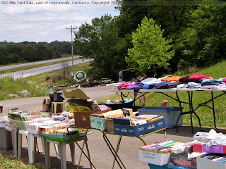 Another hilltop along the 400 Mile Yard Sale