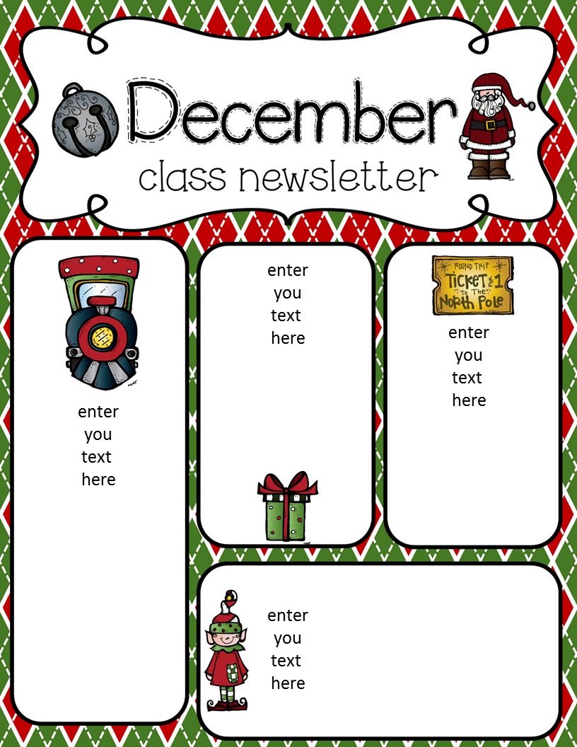 Simply Delightful in 2nd grade: December Newsletter Freebie!!!