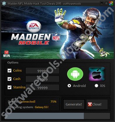 Madden NFL Mobile Hack Tool 2015 Download No Survey ...