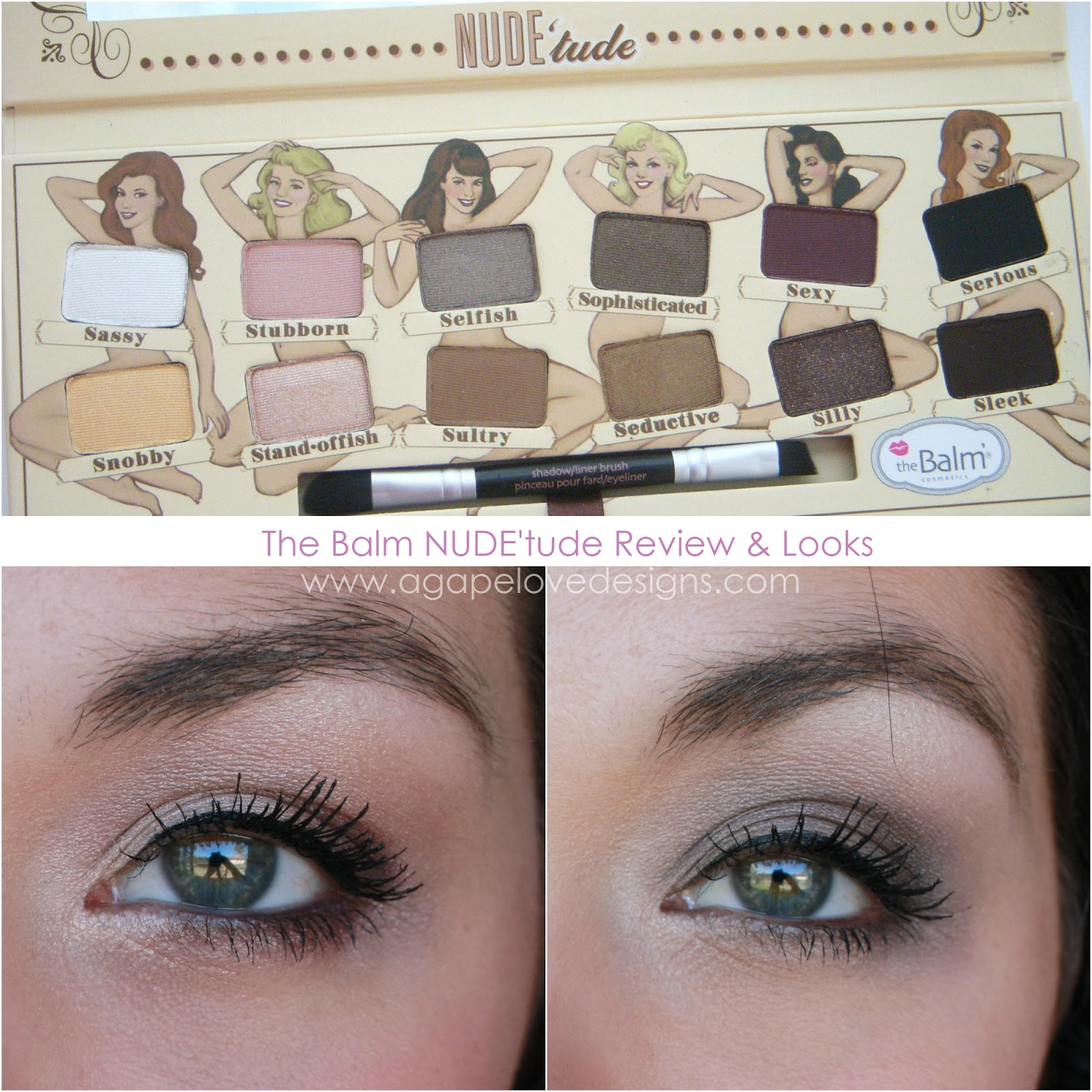 The balm nude tude palette review foto 471