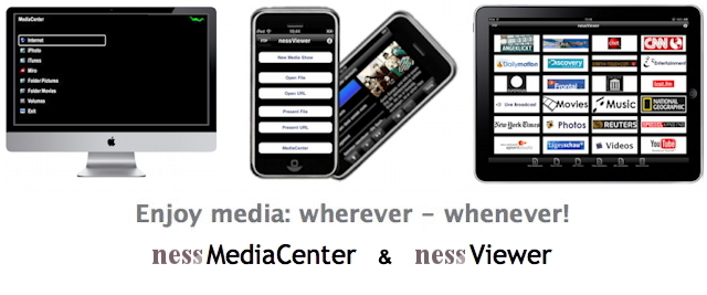 nessViewer / nessMediaCenter Blog