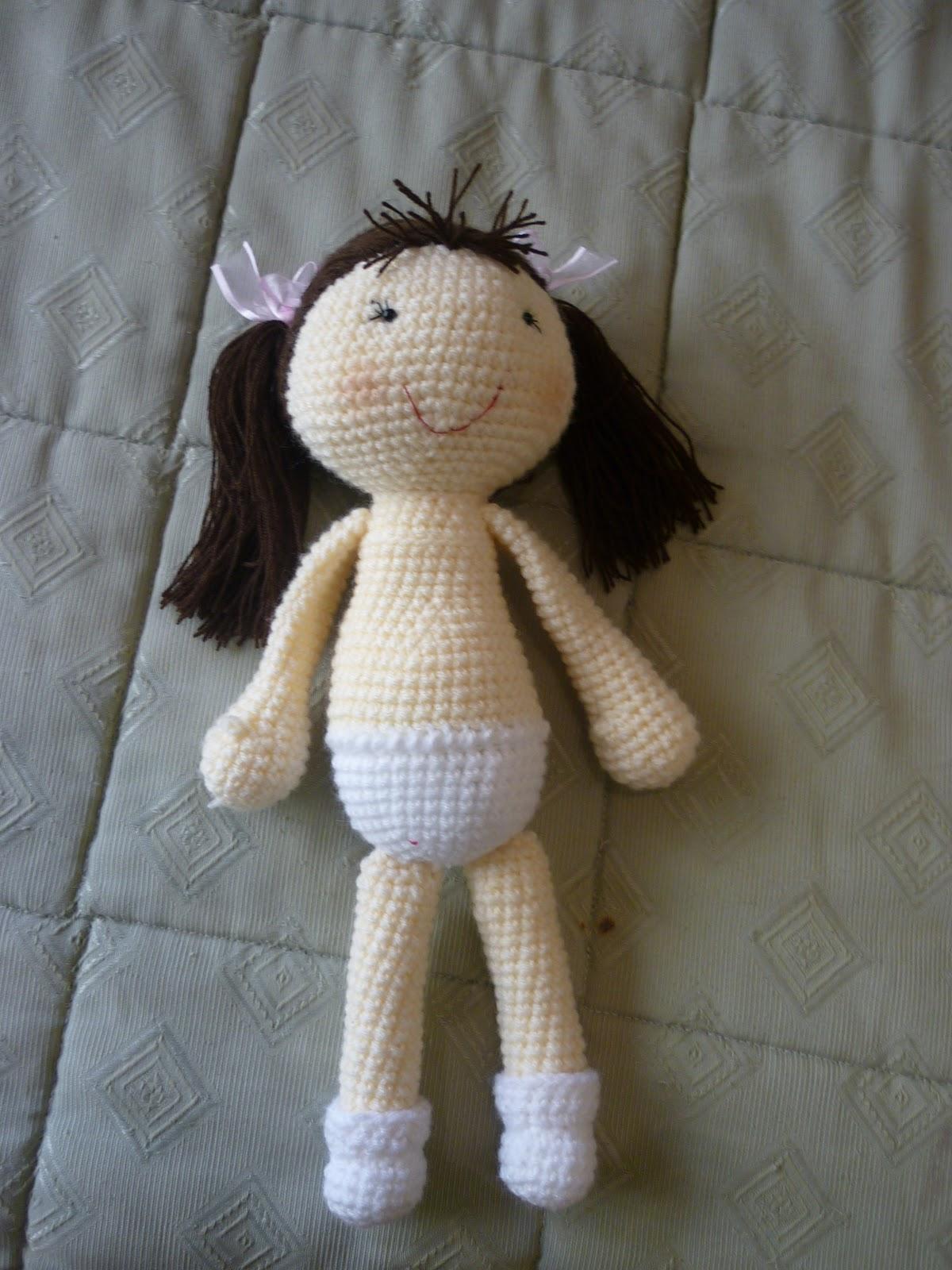Tutorial Muneca Amigurumi : Tejiendo Suenos: Muneca base amigurumi crochet + Patron