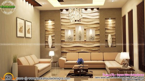 Living Room Interior Design In Kerala brilliant living room designs kerala style ceiling design beauty n