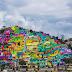 Un mural cambia la vida en un barrio en Mexico