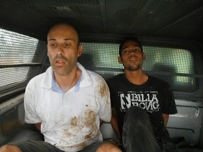 Policiais da 63ª CIPM capturam ladrões de carro em Ibicaraí