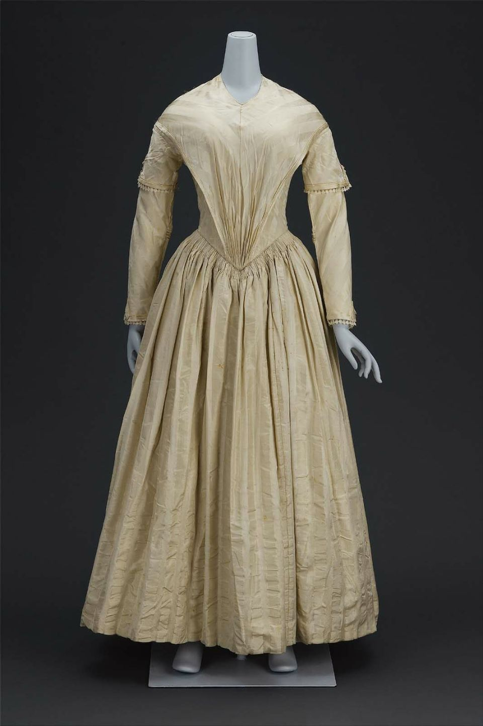 Enchanted serenity of period films 18th 19th century for 19th century wedding dresses