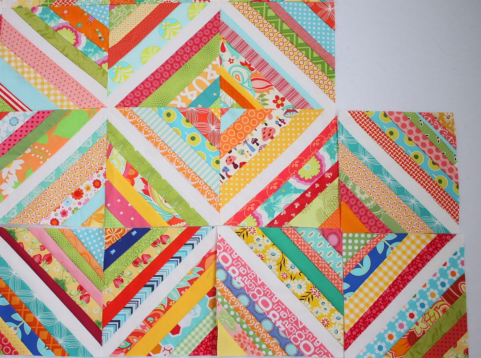 Scrap Quilt Block Patterns - Patterns Kid