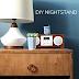 DIY Copper Embellished Nightstand