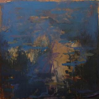 Abstract painting by artist Karri McLean Allrich - Salisbury Deep