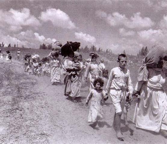 A Nakba e os refugiados palestinos