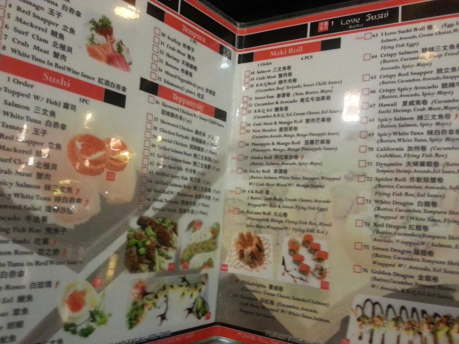 Freakzspeaks go for sushi on 8th street saskatoon for Asian cuisine saskatoon menu