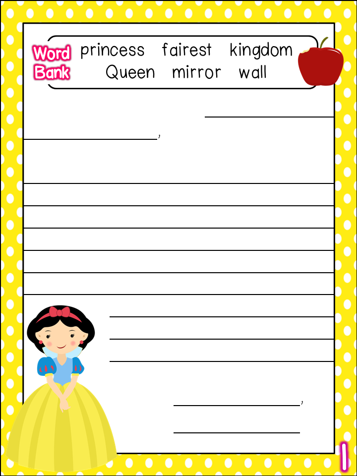 Princess Letter Template - Costumepartyrun