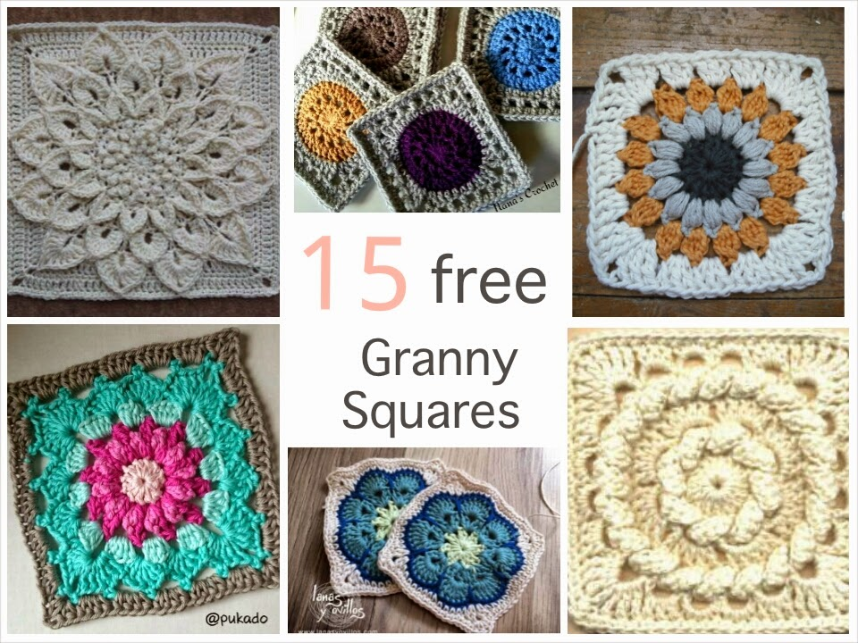 Crochet Granny Square African Flower Pattern : African Flower Granny Square Crochet Pattern images