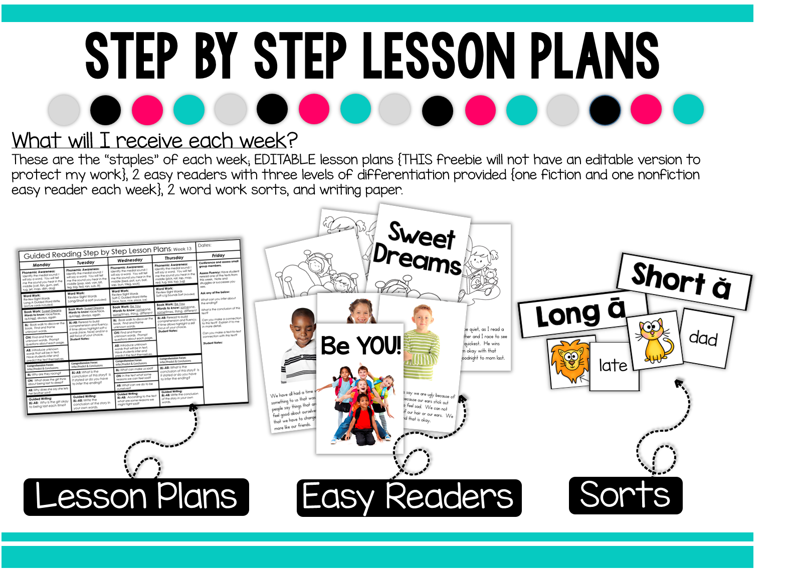 Worksheet Free Reading For 1st Graders freebielicious a free week of 1st grade guided reading have great week