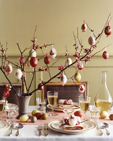 ... cool, Easter table decorations. Check back for more inspiration