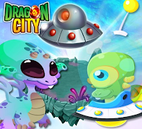 imagenes de la isla alienigena de dragon city