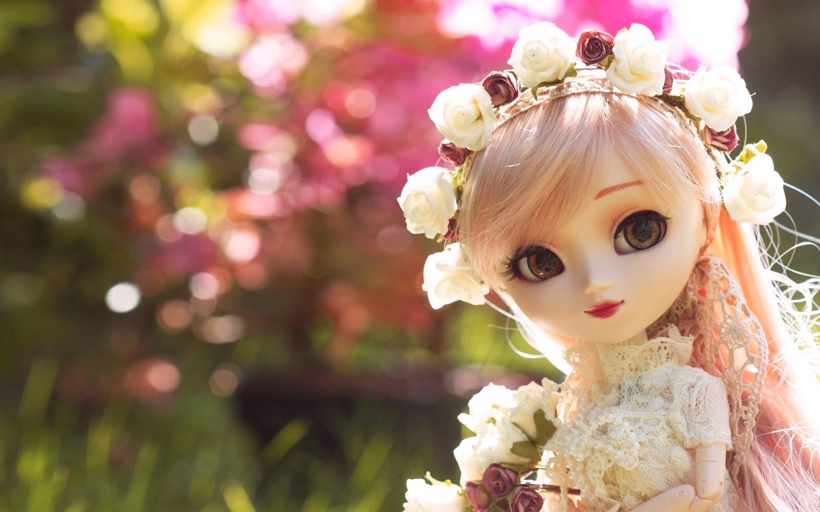 Beautiful Doll HD Wallpaper