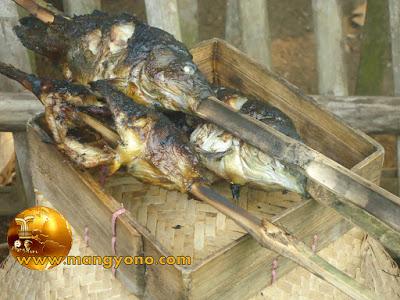FOTO 1 : Ikan mas sudah matang