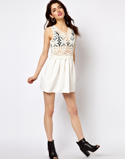 brightness lace white dresses