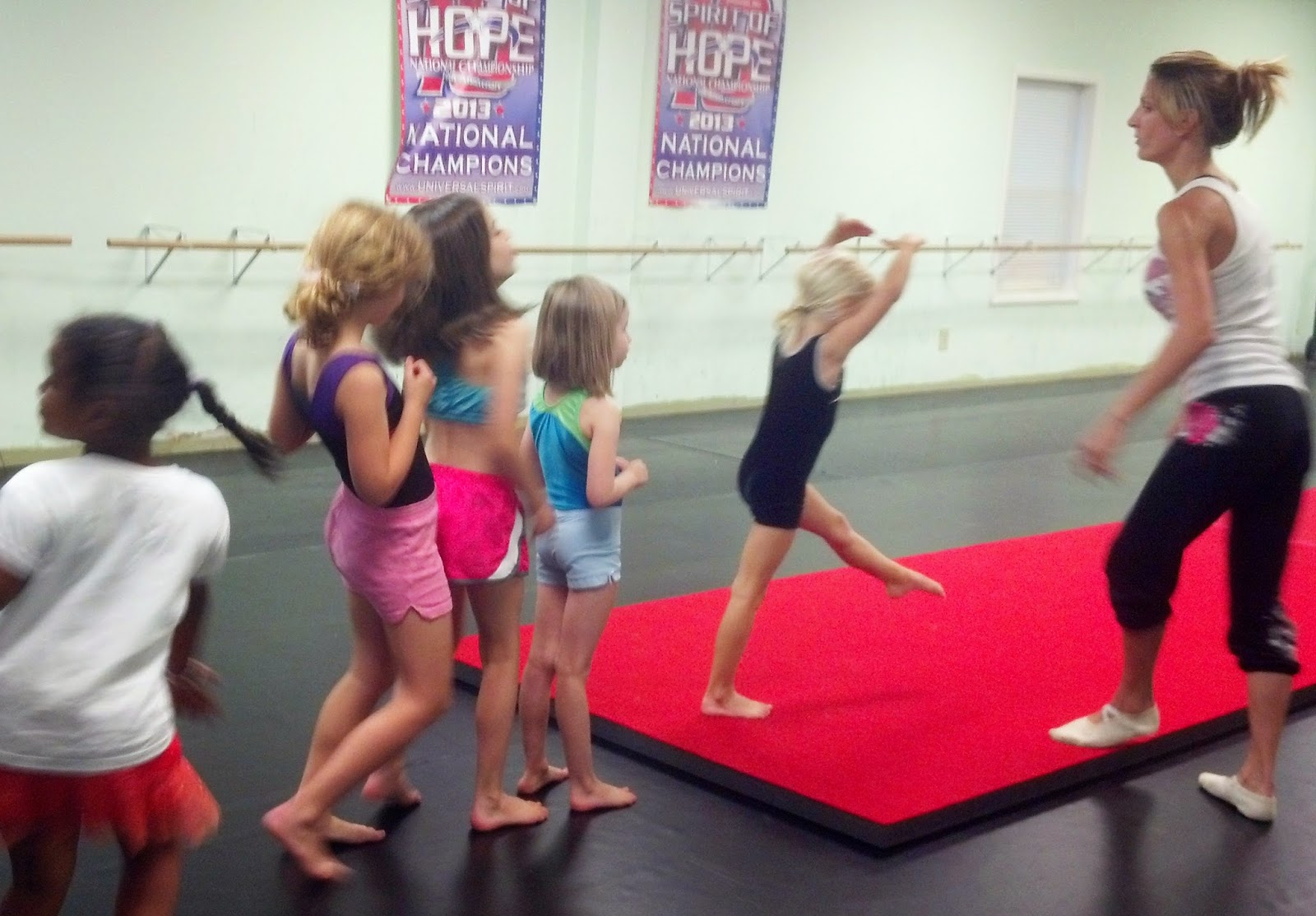 charlotte nc summer acro lessons