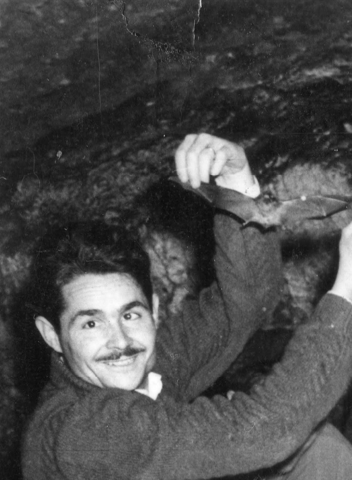 Avenç del Daví - any 1959 - Treballs de col·laboració amb la Universitat de Barcelona