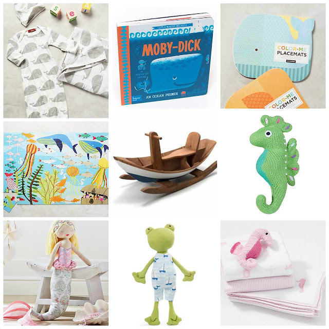 Nautical Gift Guide: Babies and Kids
