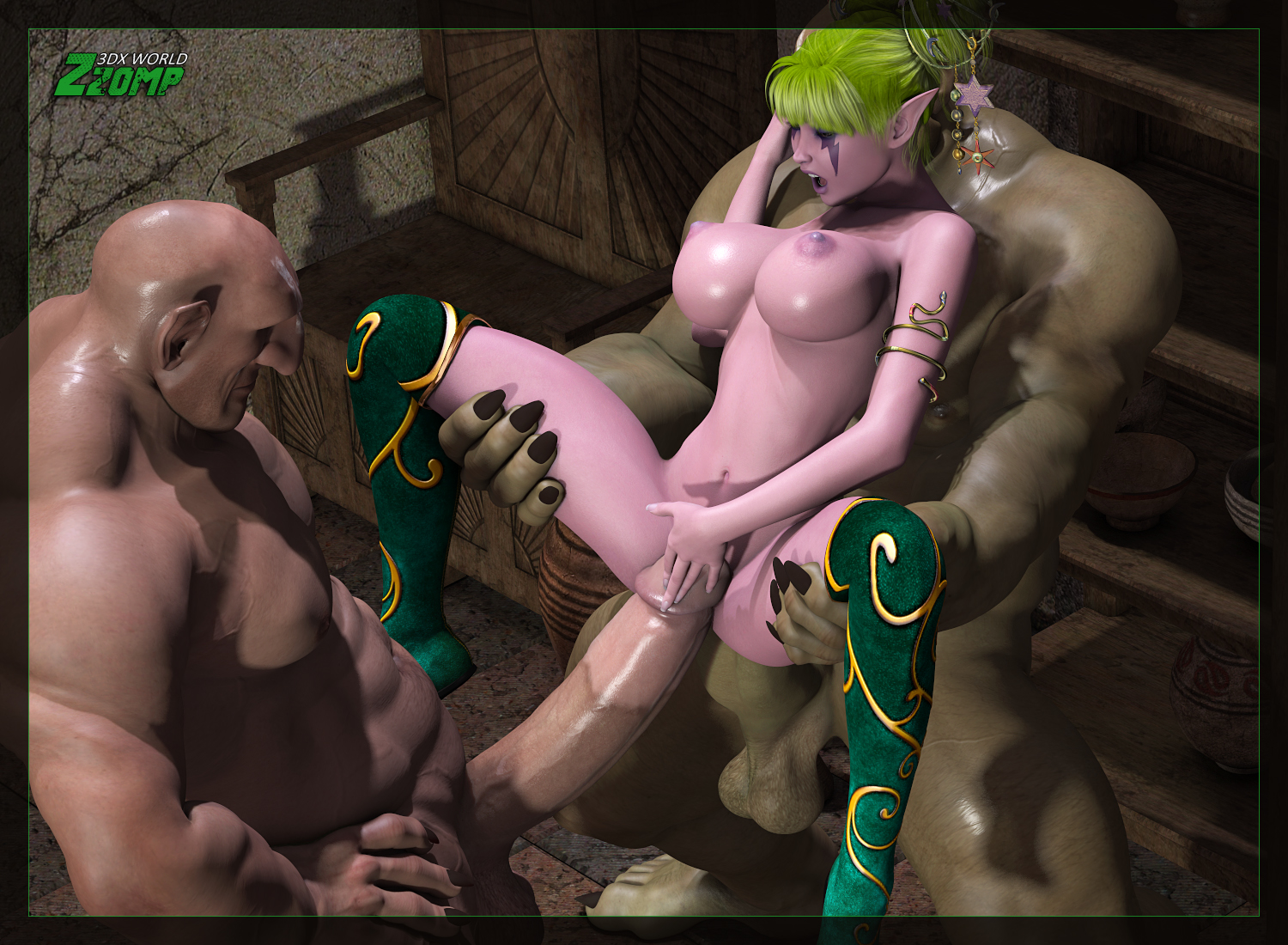 Hot hentai gay porn ogre erotic photo