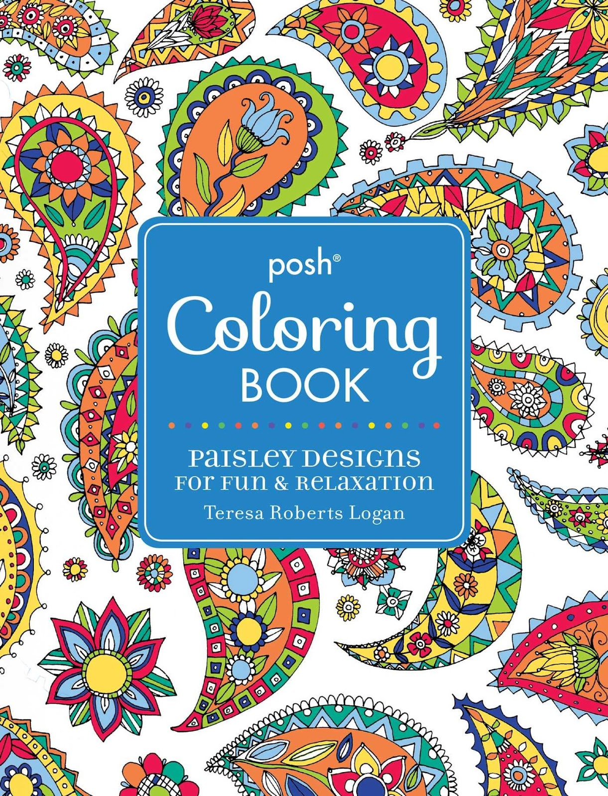 We Did Receive Two New Coloring Books Yesterday Posh Adult Happy Doodles For Fun Relaxation 9781449475581 1299 And Paisley Designs