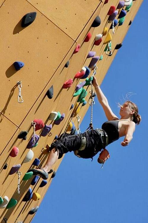 Highest Climbing Wall in the World Photography