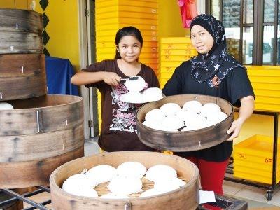 Jana Pendapatan RM1,500 Sehari Jual Pau