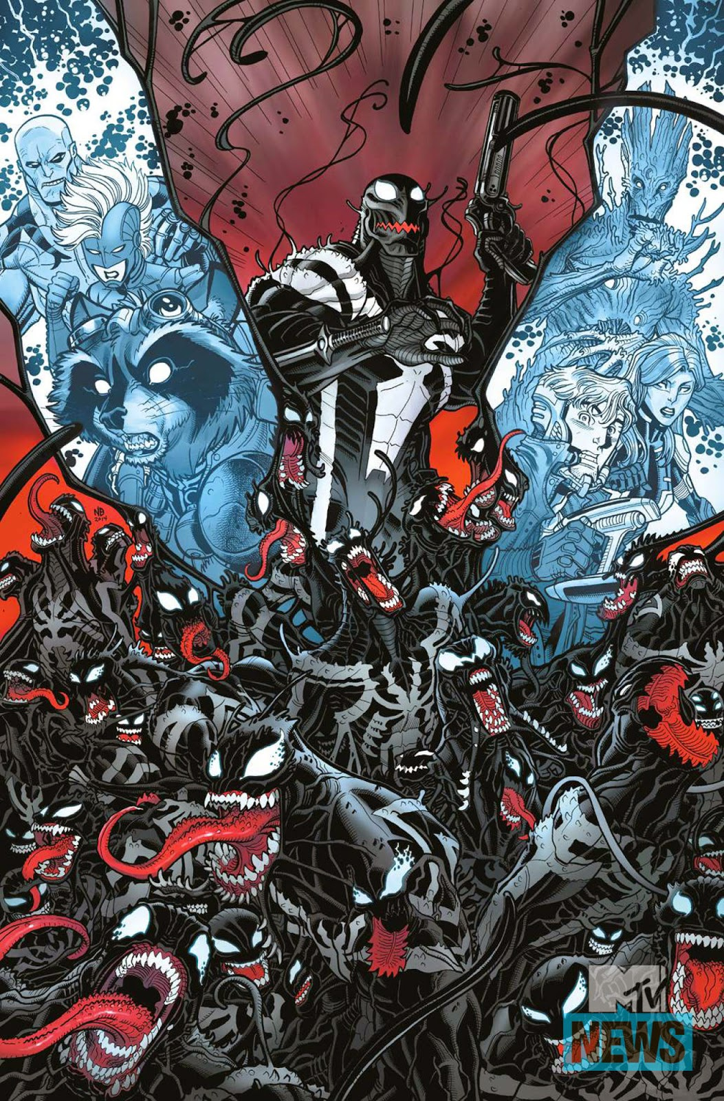 Discover the symbiote homeworld in Guardians of the Galaxy: Planet of the Symbiotes