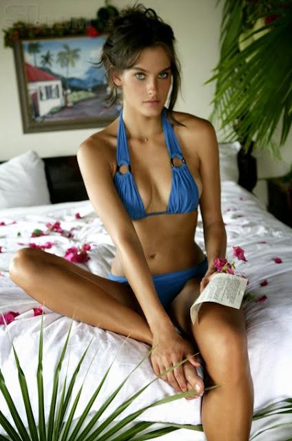 Melissa Baker bikini model