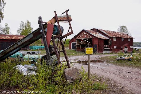 gammalt sågverk