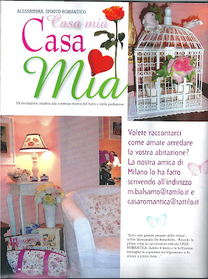 My romantic creations sono su casa romantica shabby chic for Costruendo su a casa mia