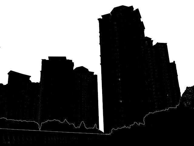skyscraper silhouette