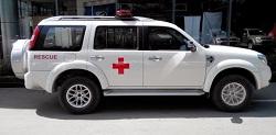 Ford Everest cứu thương