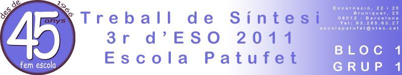 TS 3r d'ESO 1011 Bloc 1 - Grup 1