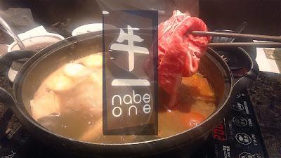 【食】豪邁日式涮涮鍋 @ Nabe One 牛一