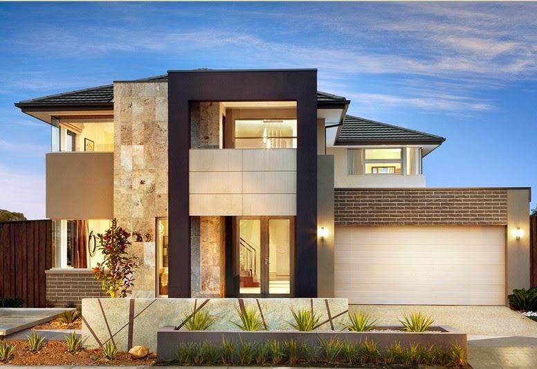 contoh gambar desain rumah modern 2015 ala eropa gambar