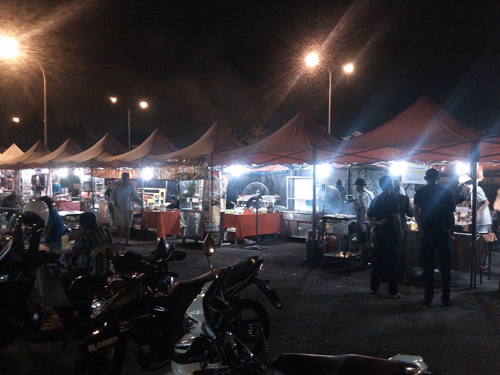 Burger Bakar Kaw Kaw @ Puchong Utama