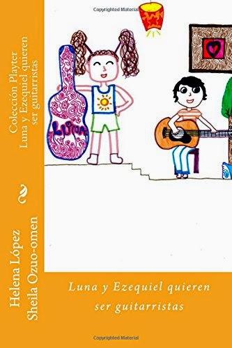 Luna y Ezequiel quieren ser guitarristas