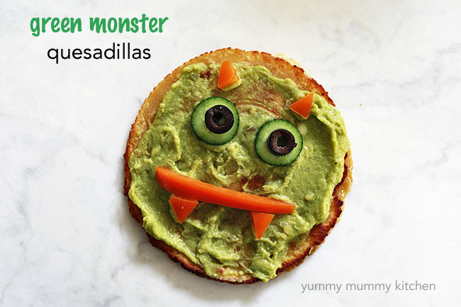 Green Monster Quesadillas