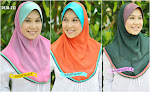 SYRIA CHIFFON WITH 3 COLOR PIPING -RM45 ONLY