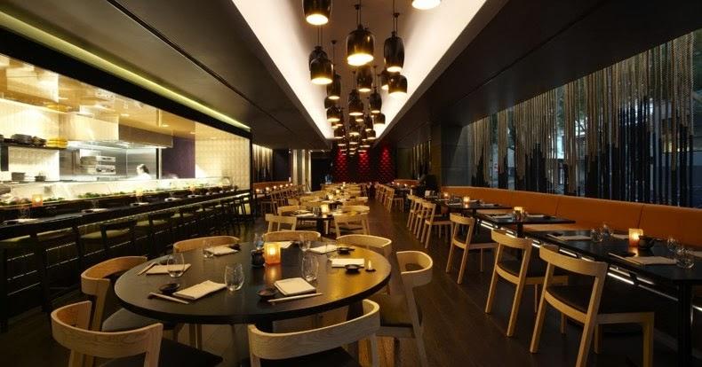 Sokyo restaurant interior design best