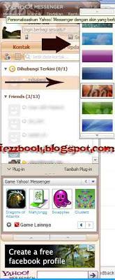 Cara Ganti Skin Yahoo Messenger Agar Tampil Beda