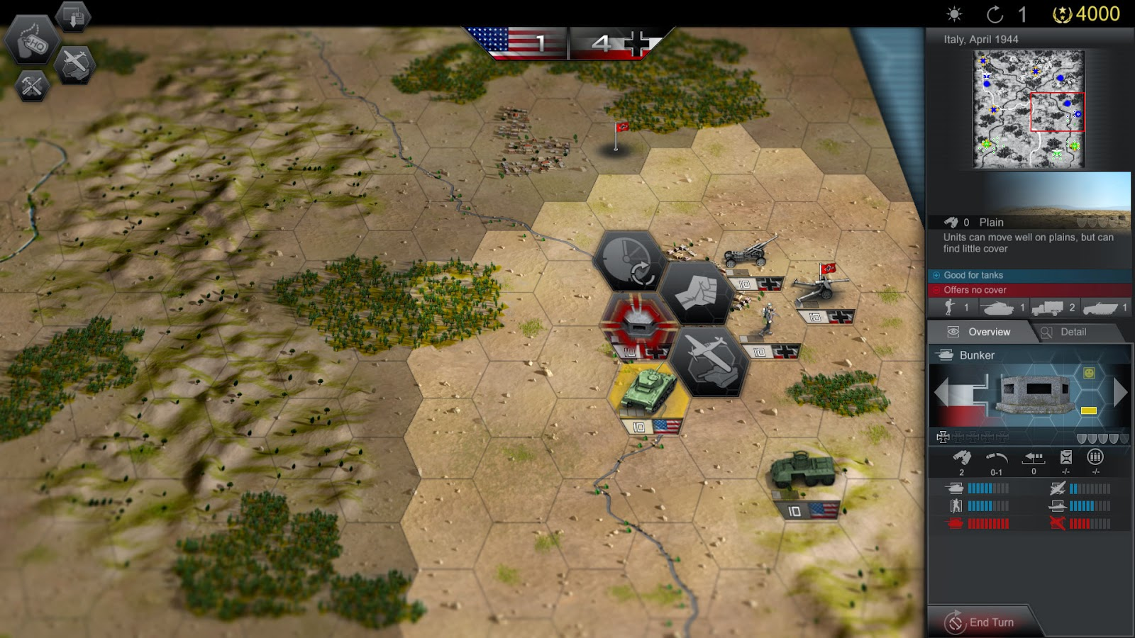 Panzer Tactics HD screenshots