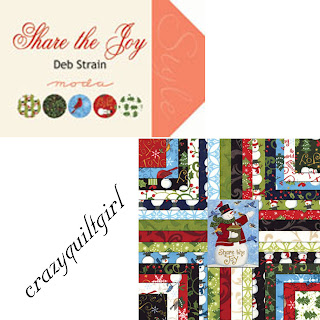 Moda SHARE THE JOY Christmas Fabric by Deb Strain